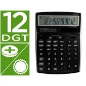 Calculadora citizen de secretaria ccc-112 b 12 digitos preta202x155x33 mm