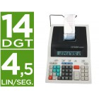 Calculadora citizen de secretaria com impressora 350 dp ii 12 digitos