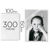 Bolsa de plastificar 3l office manual em frio 10x15 cm 300 microns com iman e base secretaria pack de 3 unidades