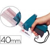 Recarga navetes avery para pistola de etiquetas -40 mm