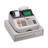 Registadora olivetti ecr 8200 s gaveta grande caixa profissionalconetavel pc e leitor codigo barras
