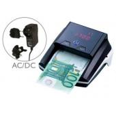 Detector q-connect de notas falsas com carregador electrico porta usb actualizacao de moedas