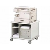 Mesa rocada para fotocopiadora / impressorade cor cinza 75 x 60 x 60 cm