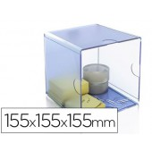 Cubo de arquivo archivo 2000 compartimento organizador modular plastico 155x155x155xmm inclui clips de sujecion