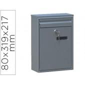 Caixa de correio q-connect para correspondencia 319 x 217 x 80 mm