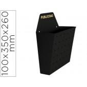 Caixa metalica sie para publicidade pintada em epoxy de cor preta