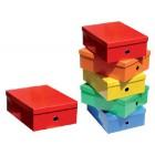 Caixa fast paperflow carton forrado cor line 130x280x365 mm cores sortidas