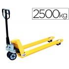 Porta-paletes de mao q-connect capacidade maxima de carga 2500 kg 1224 x 1538 mm