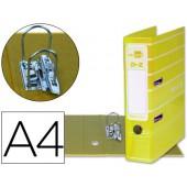Pasta de arquivo liderpapel filing system cartao forrado a4 sem caixa. amarela