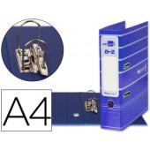 Pasta de arquivo liderpapel filing system cartao forrado a4 sem caixa. azul