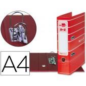 Pasta de arquivo liderpapel filing system cartao forrado a4 sem caixa. vermelha