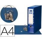 Pasta de arquivo liderpapel filing system cartao forrado a4 com caixa. azul