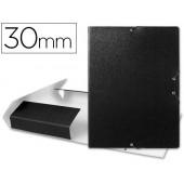 Capa elasticos para projectos lombada 3 cm preta