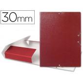 Capa elasticos para projectos lombada 3 cm vermelha