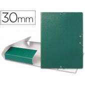 Capa elasticos para projectos lombada 3 cm verde