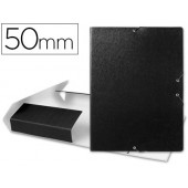 Capa elasticos para projectos lombada 5 cm preta