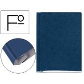 Pasta para projectos cartao compacto gio folio azul -com fole e interiores