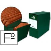 Caixa de transferencias com fole formato folio verde