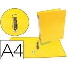Pasta de arquivo liderpapel color system cartao forrado a4 2 aneis 25 mm mistos lombada de 40 mmsem caixa amarela