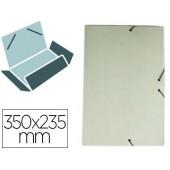 Pasta de elasticos liderpapel com abas em cartolina 350 grs. cor verde medidas: 350x235 mm