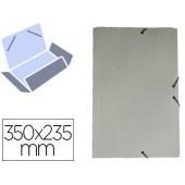Pasta de elasticos liderpapel com abas em cartolina 350 grs. cor azul medidas: 350x235 mm