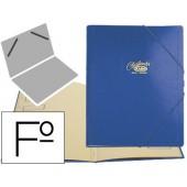 Pasta classificadora cartao compacto saro folio azul -12 departamentos