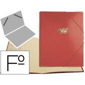 Pasta classificadora cartao compacto saro folio vermelha -12 departamentos