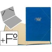Capa classificadora com 12 departamentos saro. azul