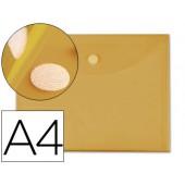 Bolsa porta documentos liderpapel. a4. amarelo