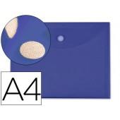 Bolsa porta documentos liderpapel. a4. azul escuro