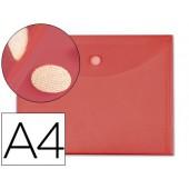 Bolsa porta documentos liderpapel. a4. vermelho