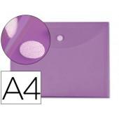 Bolsa porta documentos liderpapel. a4. violeta