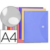 Bolsa porta documentos liderpapel. a4. 12 cores sortidas