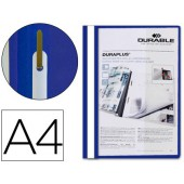 Capa duraplus a4 com fastener azul 2579-06