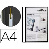Capa duraplus a4 com fastener preto 2579-01