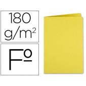 Classificador liderpapel em cartolina de 180 grs. folio. amarelo intenso