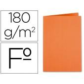 Classificador liderpapel em cartolina de 180 grs. folio. laranja intenso