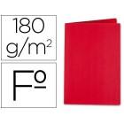 Classificador liderpapel em cartolina de 180 grs. folio. vermelho intenso