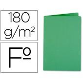 Classificador liderpapel em cartolina de 180 grs. folio. verde intenso