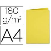 Classificador liderpapel em cartolina de 180 grs. a4. amarelo intenso