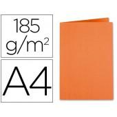 Classificador liderpapel em cartolina de 180 grs. a4. laranja intenso