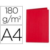 Classificador liderpapel em cartolina de 180 grs. a4. vermelho intenso