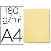 Classificador cartolina gio din a4 amarelo pastel 180 g/m2