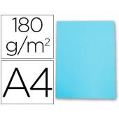 Classificador cartolina gio din a4 celeste pastel 180 g/m2