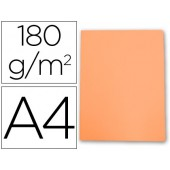 Classificador cartolina gio din a4 laranja pastel 180 g/m2