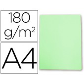 Classificador cartolina gio din a4 verde pastel 180 g/m2