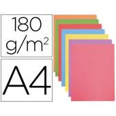 Classificador cartolina gio din a4 cores pastel sortidas 180 g/m2 embalagem de 50 unidades