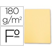 Classificador de cartolina gio folio amarelo pastel 180 g/m2