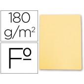 Classificador de cartolina gio folio amarelo pastel 180 g/m2