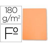 Classificador de cartolina gio folio laranja pastel 180 g/m2